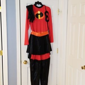 Mrs. Incredible delux costume with skirt